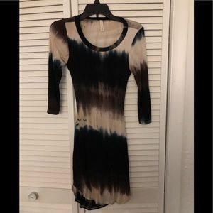 EUC Sexii Spring/Summer Type-Dyed Dress